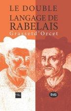 Double langage de Rabelais Grasset d' Orcet