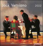 Jack Vettriano 2022 - Kunst-Kalender - 45x48