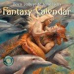 Boris Vallejo & Julie Bell's Fantasy Wall Calendar 2022