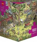 Garden Adventures, Simon's Cat Puzzle 1000 Teile