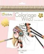 Carnet de coloriage Wild 2 - GY068C