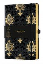 Carnet C&G grand format ligne baroque gold