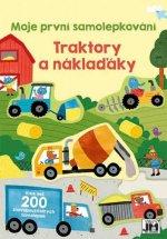 Moje první samolepkování Traktory a náklaďáky