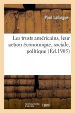 Les Trusts Americains, Leur Action Economique, Sociale, Politique