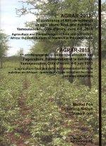 AGRAR 2013 1ERE CONFERENCE  RECHERCHE AFRICAINE SUR AGRICULTURE, ALIMENTATION, NUTRITION