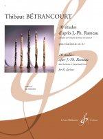 10 études d'après Jean-Philippe Rameau