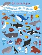 Cahier de jeux des animaux de la mer