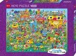 Doodle Village Puzzle 1000 Teile