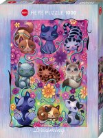 Kitty Cats Puzzle 1000 Teile