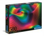 Puzzle 500 color boom Fale 35093