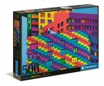 Puzzle 500 color boom Kwadraty 35094