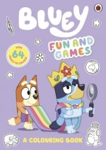 Bluey: Fun and Games Colouring Book