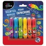 Pisaki Kidea zapachowe A 6 kolorów
