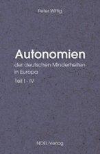 Autonomien der deutschen Minderheiten in Europa