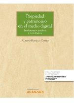 Propiedad y patrimonio en el medio digital (Papel + e-book)