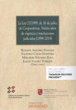 Ley 27/1999, de 16 de julio, de cooperativas, La. Veinte años de vigencia y reso