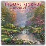 Thomas Kinkade Gardens of Grace with Scripture 2022 Wall Calendar