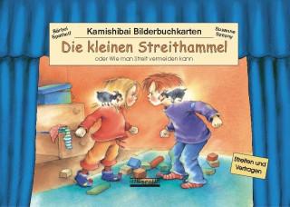 Die kleinen Streithammel, Kamishibai-Bilderbuch-Karten
