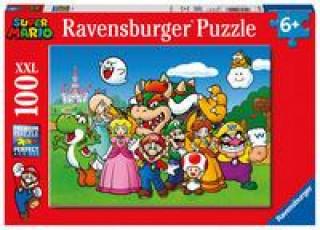 Ravensburger Kinderpuzzle 12992 - Super Mario Fun 100 Teile XXL - Puzzle für Kinder ab 6 Jahren