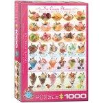 Puzzle 1000 Ice Cream Flavours 6000-0590