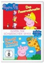 Peppa Pig Doppelpack - Das Feuerwehrauto & Gerald Giraffe und andere Geschichten
