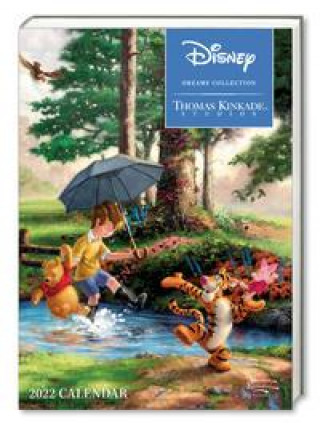 Disney Dreams Collection by Thomas Kinkade Studios: 2022 Monthly/Weekly Engagement Calendar