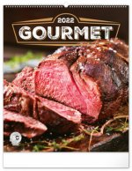 Nástěnný kalendář Gourmet 2022