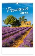 Provence 2022 - nástěnný kalendář