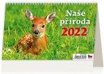 Naše příroda 2022 - stolní kalendář