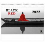 Black Red 2022 - nástěnný kalendář