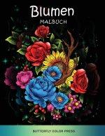 Blumen Malbuch