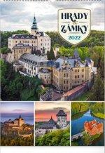 Nástěnný kalendář Hrady a zámky 2022