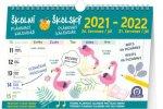 Školní plánovací kalendář s háčkem 2022