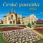 České památky  2022 - nástěnný kalendář