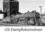 US-Dampflokomotiven (Tischkalender 2022 DIN A5 quer)