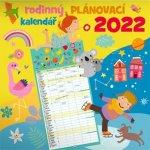 Rodinný plánovací nástěnný kalendář 2022