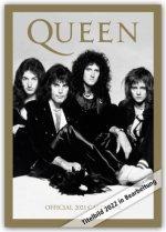 Official Queen A3 Calendar 2022