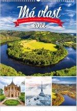 Nástěnný kalendář Má vlast 2022