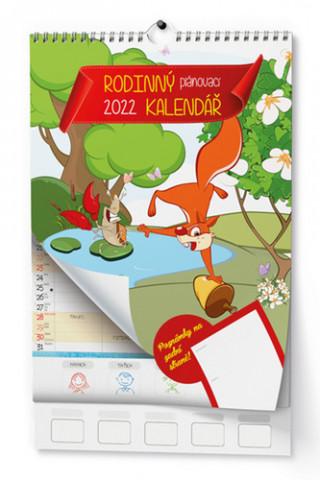 Rodinný plánovací 2022 - nástěnný kalendář