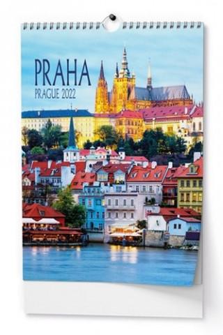 Praha 2022 - nástěnný kalendář