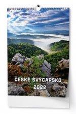 České Švýcarsko 2022 - nástěnný kalendář