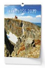 Krkonoše 2022 - nástěnný kalendář