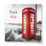 Black & Red 2022 - nástěnný kalendář