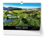 Golf 2022 - nástěnný kalendář