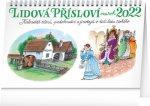 Stolní kalendář Lidová přísloví II. na rok 2022 – Kamila Skopová