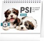 Stolní kalendář Psi – se jmény psů 2022