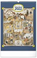 Nástěnný kalendář Josef Lada – Měsíce 2022