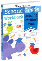 Ready to Learn: Second Grade Workbook: Phonics, Sight Words, Multiplication, Division, Money, and More!
