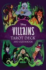 Disney Villains Tarot Deck and Guidebook Movie Tarot Deck Pop Culture Tarot