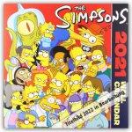 Official Simpsons Square Calendar 2022